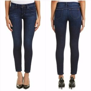 Joes Dark Wash Skinny Low Rise Stretch Ankle Jeans